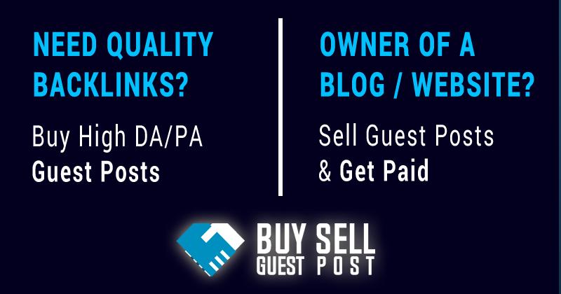 BuySellGuestPost: Guest Blogging Services